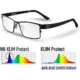 KLIM Protect - Gafas generación - Protege los Ojos Frente a la dañina luz Azul de