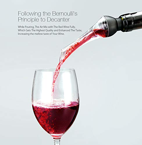 Farway Wine Dispenser Woodpecker Instant Wine Aerator Decanter Quick Red Wine Decanting Aerating Pourer