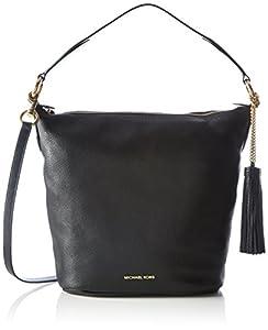 f9f9d59ba6e082 ... Michael Kors Elana Large Shoulder Bag (Black) |. upc 190049463635  product image1