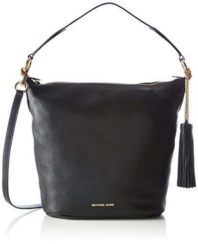 MICHAEL Michael Kors Elana Large Shoulder Bag (Black)