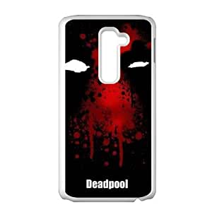 Customized Protective Hard Plastic Case for LG G2 - Deadpool Superhero personalized case at CHXTT-C