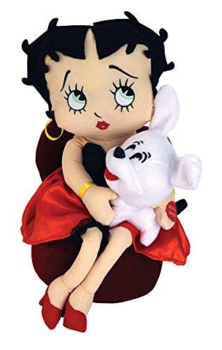 Chantilly Lane Betty Boop & Pudgy Plush, -