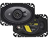 Best 4x6 Car Speakers - Kicker 43CSC464 CSC46 4x6-Inch Coaxial Speakers, 4-Ohm Review