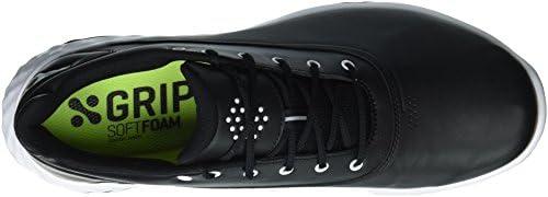 PUMA Golf Men's Grip Fusion Golf Shoe, BlackWhite, 7 Medium