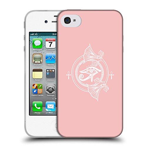 GoGoMobile Coque de Protection TPU Silicone Case pour // Q09900610 Religion 30 Bébé rose // Apple iPhone 4 4S 4G
