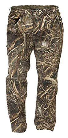 Banded Mens Soft Shell Windproof Wader Pants Polyester