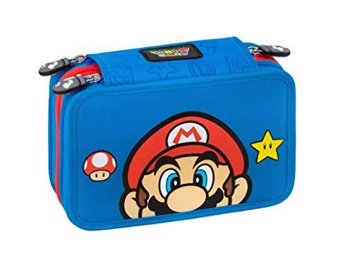 Super Mario Astuccio 3 ZIP Completo Di Cancelleria 1