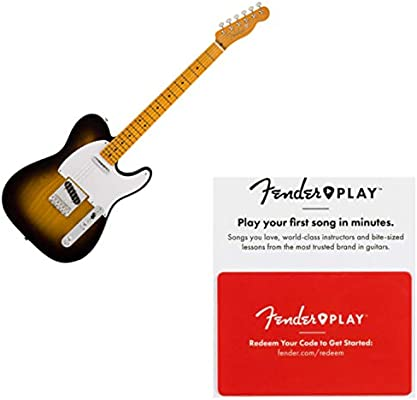 Fender Classic Series /'50s Telecaster Neck Maple FB 21 Vintage-Style Frets