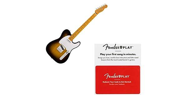 Fender Classic 50s Telecaster Maple FB Guitarra eléctrica Sunburst ...