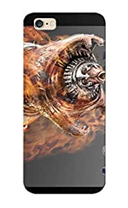 Ellent Iphone 6 Plus Case Tpu Cover Back Skin Protector Super Stardust Shooter Scifi Action Futuristic Spaceship For Lovers' Gifts