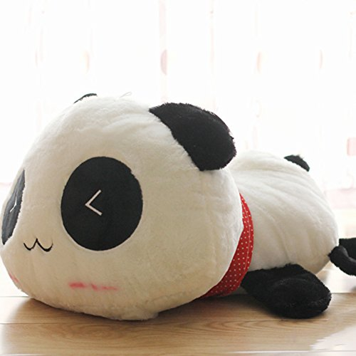 Taiguang Kawaii Cute Plush Animal Giant Panda Pillow Stuffed Bolster Doll Toy size (Kawaii Panda Plush)