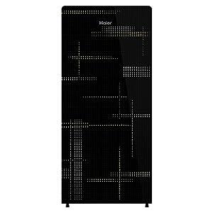 Haier 195 L 4 Star Single Door Refrigerator (HRD-1954CAG-E, Artistic Glass)