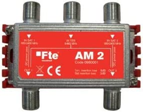 Mezclador ICT de 2 entradas de satélite y 1 terrestre y 2 ...