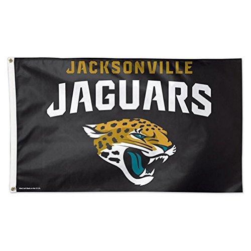 WinCraft NFL Jacksonville Jaguars Deluxe Flag, 3' x 5'