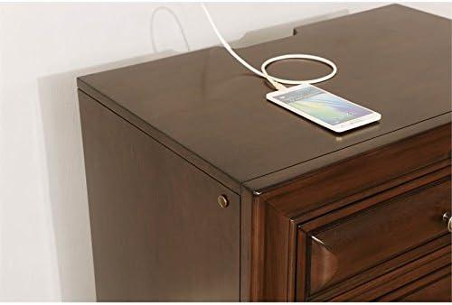 Furniture of America Bradford Wood 3-Drawer Nightstand