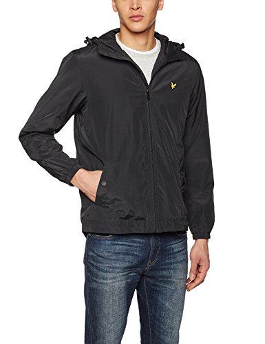 Lyle & Scott Vintage Zip Through Hooded Jacket XS True Blk by Lyle & Scott