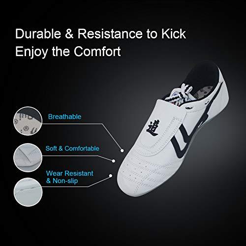 Karate Scarpe Alomejor Righe Leggere Taekwondo Sneaker Chi Fu Kung Marziali Nere A Boxe Sneakers Arti Tai Sqw4wxdY