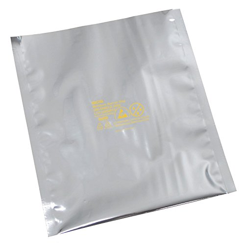 SCS Dri-Shield 2700 Silver Moisture Barrier Bag D2710.518 - 18 in Length - 10 1/2 in Wide - 7 mil Thick [PRICE is per PACK] by SCS