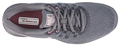 Nike Women's Flex Supreme TR 6 Training Shoes (8 B(M) US, Cool Grey/Barely Rose) (Nike Flex Supreme Tr 5 Training Shoe)