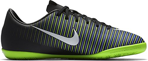 Nike 831947-013, Botas de Fútbol Unisex Adulto Negro (Black / White-Electric Green)