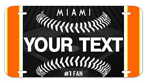 - Bleu Reign Personalized Custom Name Baseball Team Miami 12