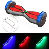 Generic LED Flexible Light Flicker Strips For Hover Board Self Wheel Smart Balancing Scooters 12V