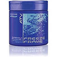 Natural Look ATV Freeze Frame Superhold Styling Gel, 500 grams