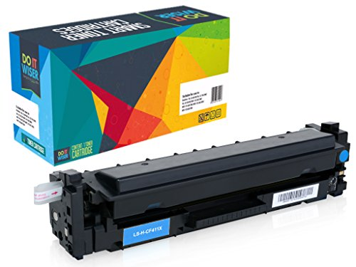 Do It Wiser Compatible High Yield Toner Cartridge for HP 410X Color Laserjet M452NW M452DW M452DN MFP M477FDN M477FDW M477FNW M377 4-Pack Photo #2