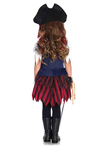 Leg Avenue Enchanted Caribbean Pirate Costume (2 Piece), Multicolor, Extra Small - coolthings.us