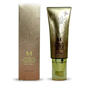 Missha M Signature Real Complete BB Cream SPF 25 PA++ No. 23 Natural Yellow Beige