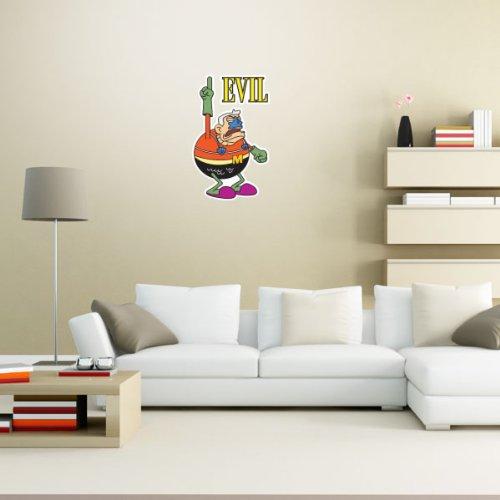 Spongebob Mermaid Man Evil Wall Graphic Decal Sticker 25