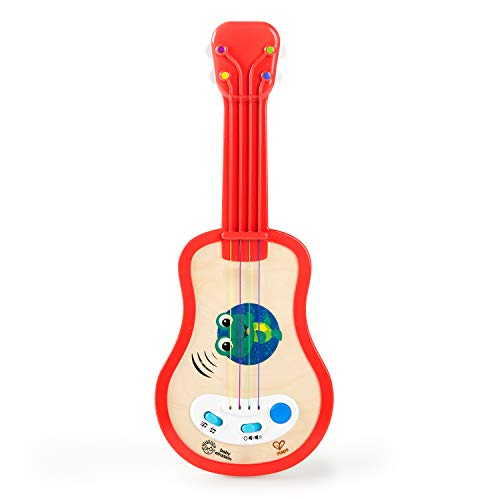 Baby Einstein Magic Touch Ukulele Wooden Musical Toy, 12 Months +