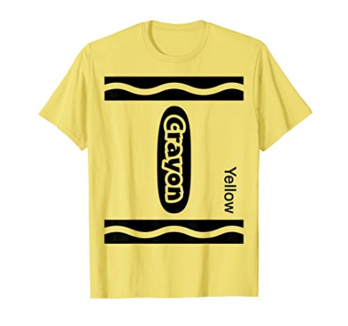 Yellow Crayon Costumes - Halloween Yellow Crayon Costume Funny