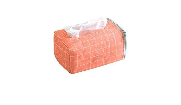 HGTYU-Frescos y sencillos pasamanos coche alquiler de toallas de papel toalla de papel tela Cuadro Asiento colgador Bolsa Bolsa de toallas de papel C: ...