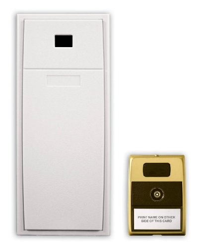 1.75' Button (Heath Zenith 29 Wired Mechanical Door Chime with Viewer, White)