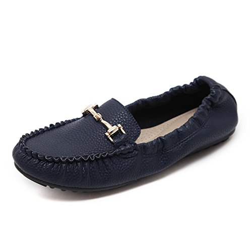 cc6e067d2d8 durable modeling Meeshine Womens Moccasin Flats Comfort Slip On Casual  Driving Loafers