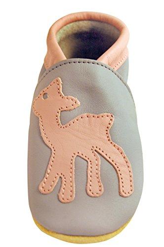 Three Little Imps Handgemachte weiche Kleinkind-Schuhe aus Leder
