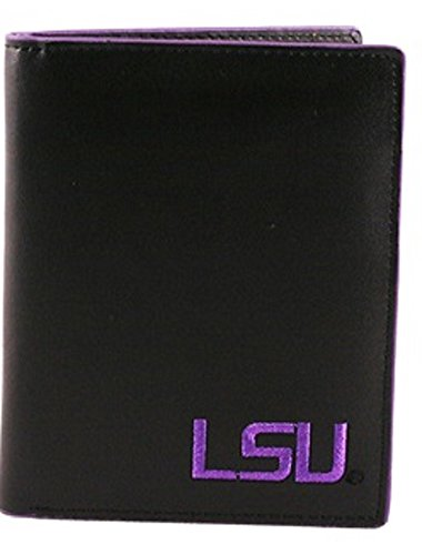 - Sports Team Accessories LSU Tigers Men's Black and Purple Hipster Wallet
