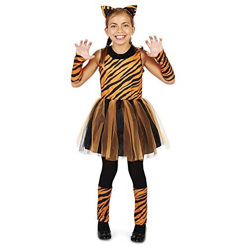 Cool Cat Tigeress Girl Child Costume M (8-10) ()
