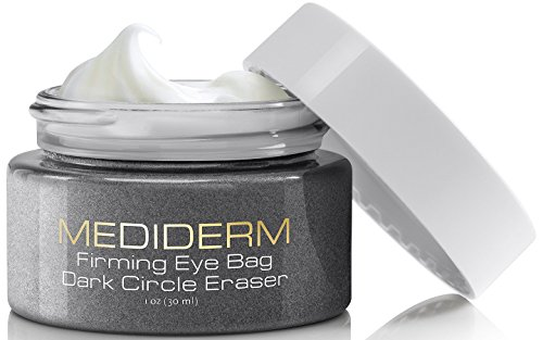 Best Under Eye Bags & Dark Circles Treatment Cream -Instantly Removes Puffy Eyes & Get Rid of Your Raccoon Eyes With Mediderm Natural Miracle Firming Anti-Aging Moisturizer For Eye Lifts & Tightening