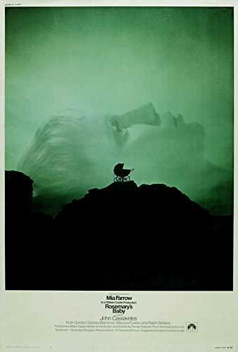 Amazon.com: Rosemary's Baby Poster Movie (27 x 40 Inches - 69cm x 102cm)  (1968): Posters & Prints