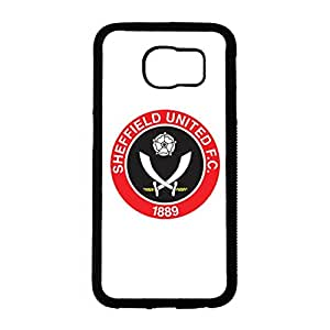 Glamorous Samsung Galaxy S6 Cover,FC Sheffield United Football Club Logo Mobile Case Attractive Hard Image
