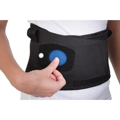 Airform Inflatable Back Support Size: Medium, Style: With Gel by Ossur