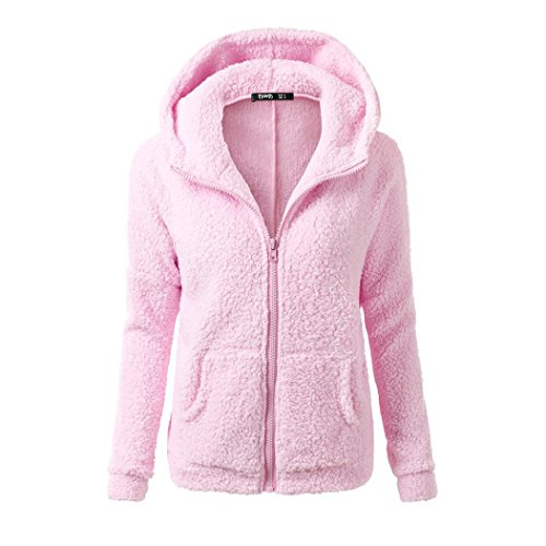 MTTROLI - Sudadera con capucha - para mujer Rosa