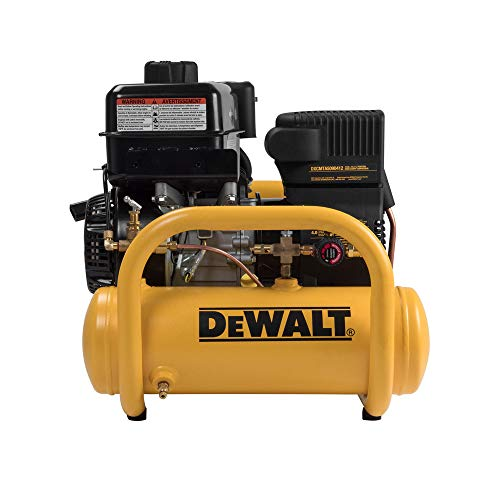 DeWalt DXCMTA5090412 Subaru Powered Oil Free Direct Drive Air Compressor, 4-Gallon (Best 4 Gallon Air Compressor)