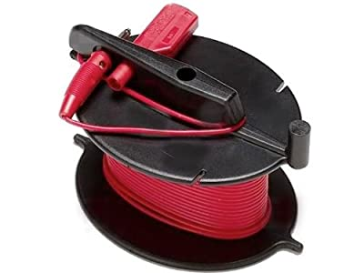 Fluke GEO CABLE-REEL Durable Red Cable Reel for Earth Ground Testing