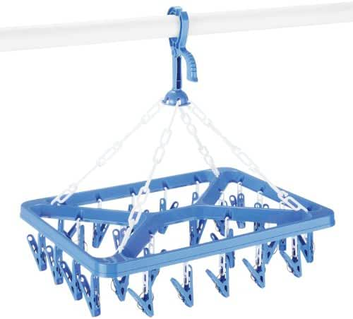 Whitmor Clip & Drip Laundry Hanger, 26 Clips