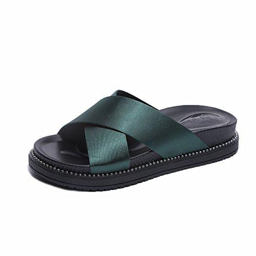 Fried Zapatos yalanshop mujer green de Deep WnwRzZ0xpq
