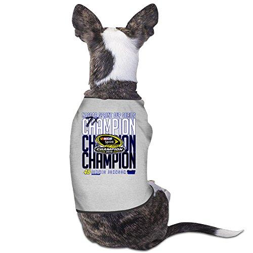 (Jimmie Johnson #48 2016 Sprint Cup Champion Puppy Clothes Pet Supplies)