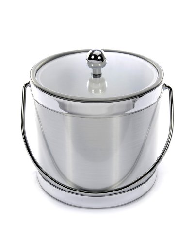 Ice Bucket 561-1 Brushed Silver Ice Bucket, 3-Quart